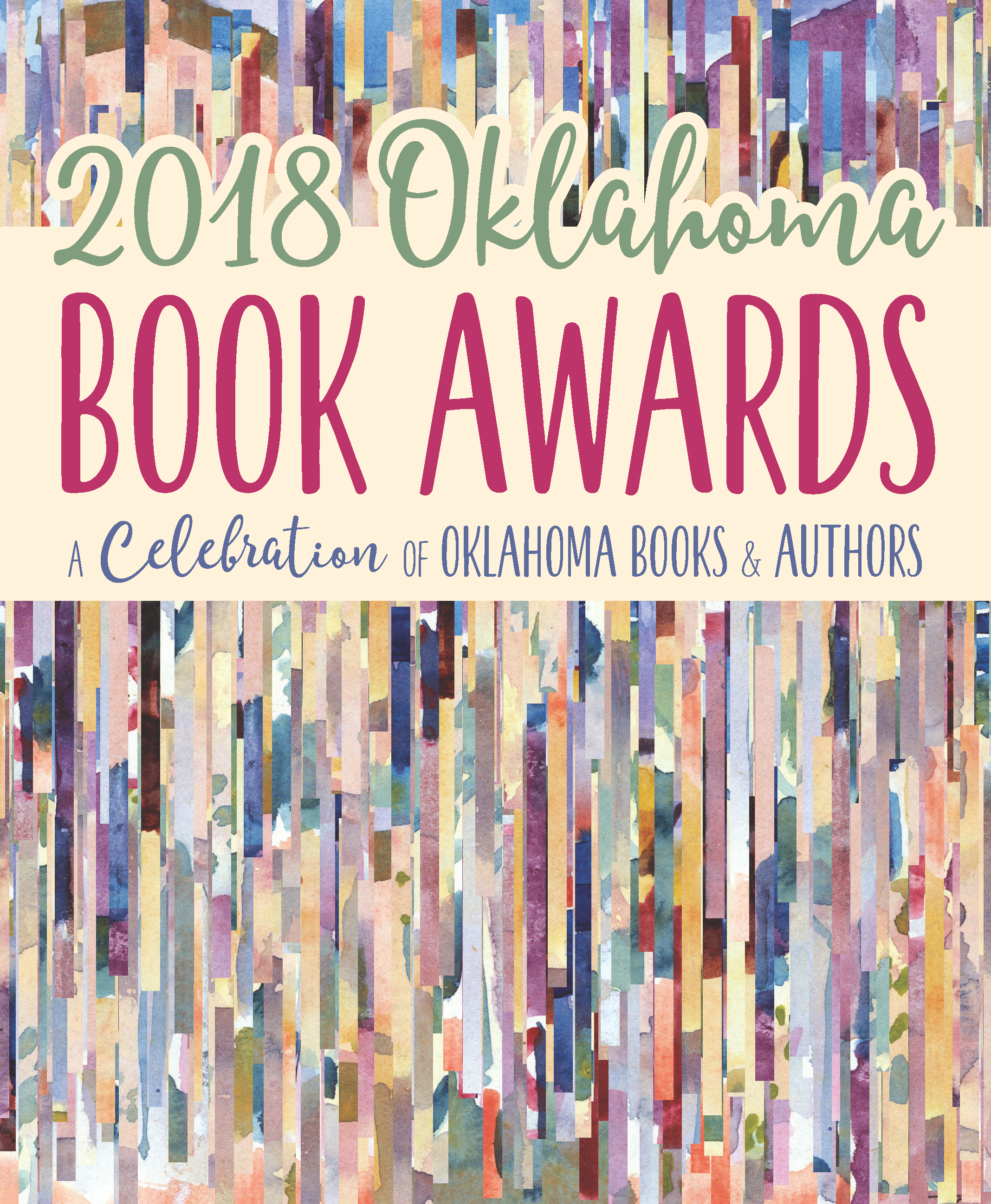 2018 Oklahoma Book Awards program cover