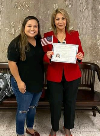 Maria participated in Rogers County Literacy Council citizenship program, Claremore.
