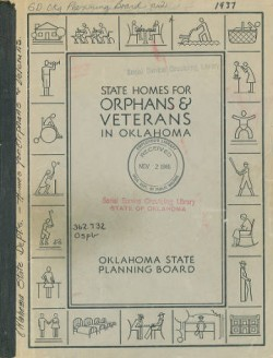 1937 Study on State Homes for Orphans and Veterans in Oklahoma