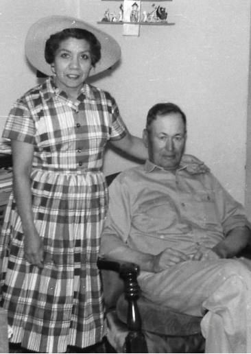 My grandparents, Young Maria and Jesus Jose Mena