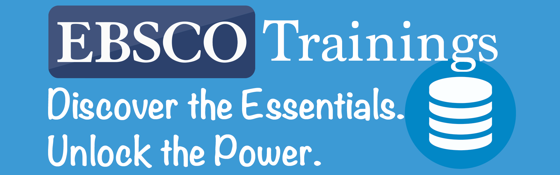 EBSCO Trainings