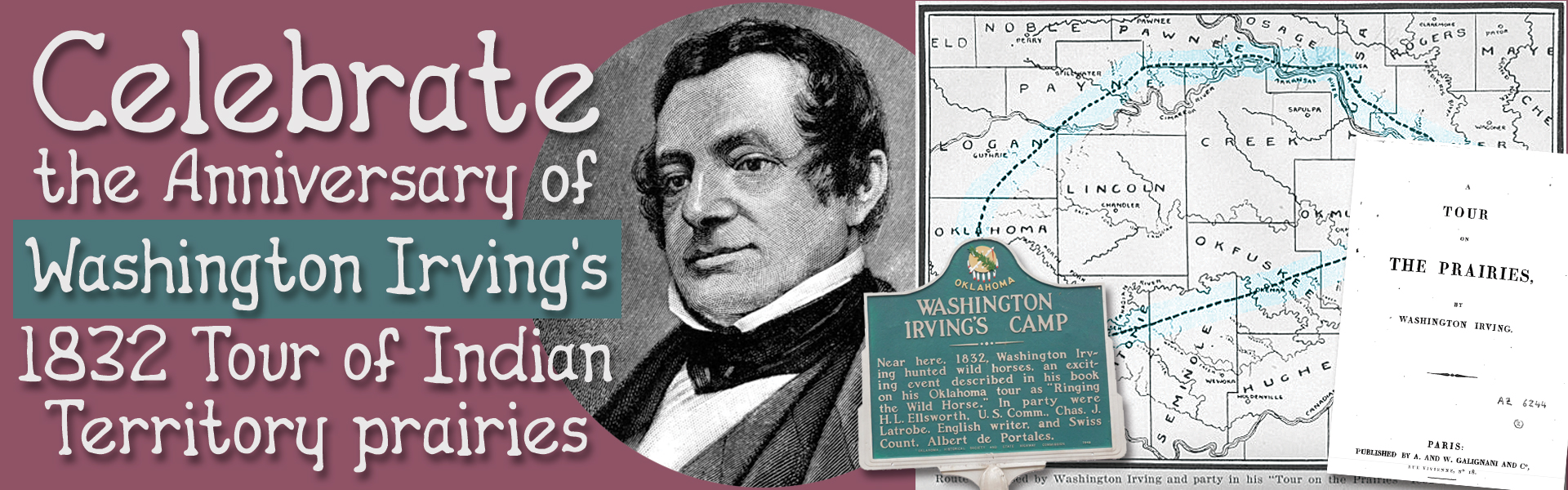 Washington Irving: Tour on the Prairies