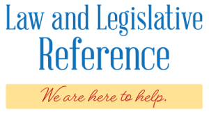 law and legislative reference