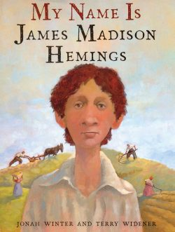 My Name is James Madison Hemings bookcover